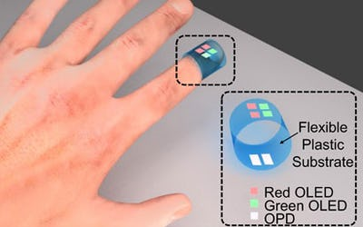 Organic electronics could lead to cheap, wearable medical sensors