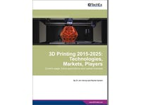 The 3D printing market boom: 22% CAGR in the next decade