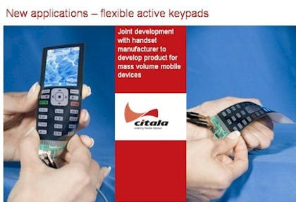 Citala's innovative flexible display technology