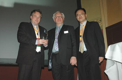 Winners of the IDTechEx Printed Electronics Europe Awards
