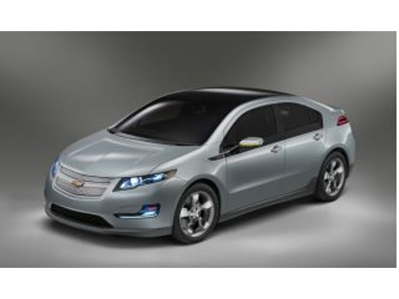 Chevy Volt battery under investigation after fire