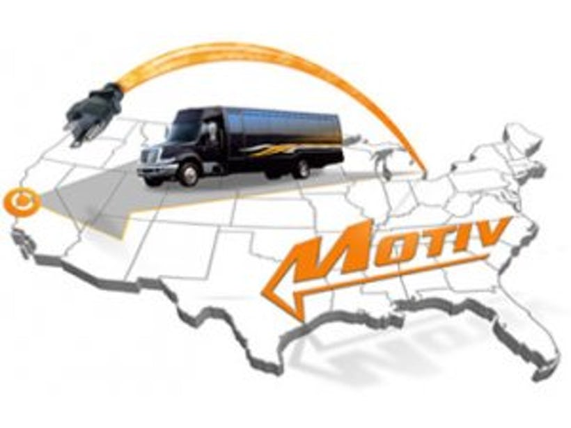 Motiv Power Systems $1.16 million grant for new battery-electric truck