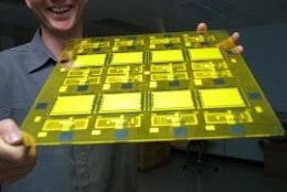 UK's first printed lighting panel to start in November 2010