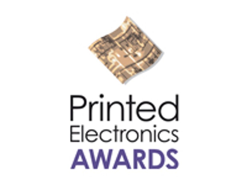 IDTechEx Printed Electronics Europe 2012 Award Winners