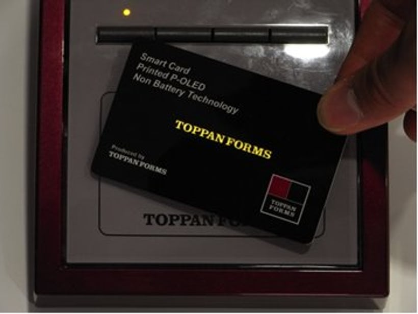 Toppan Forms to test markets with printed electronics