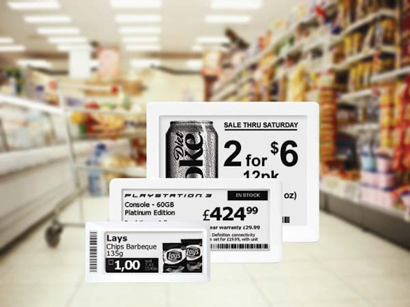 ePaper displays planned for 77 stores in Denmark