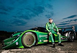 Drayson racing sets new FIA world electric land speed record