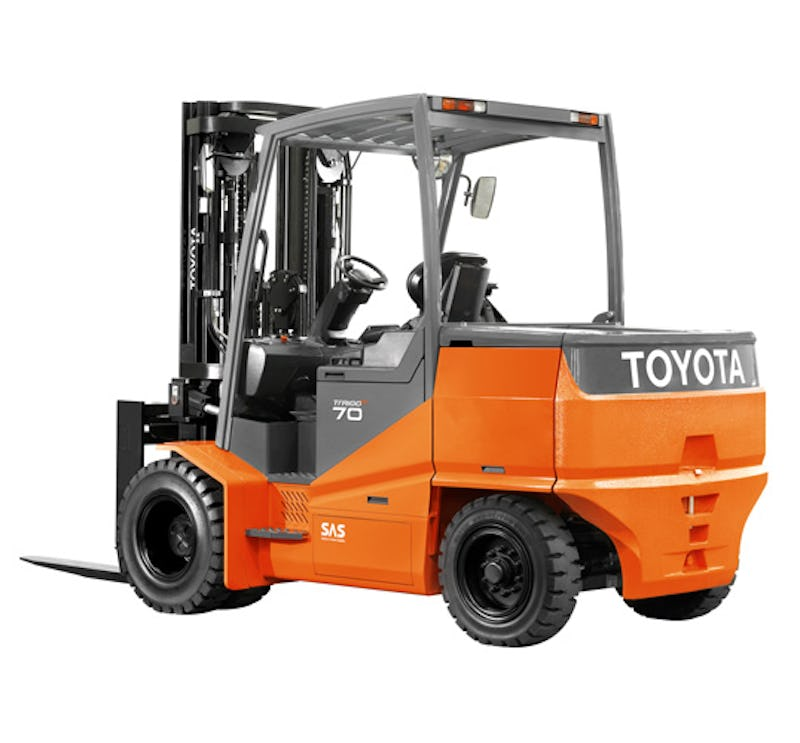 New Toyota Electric Powered Forklift Charging Forward With Innovation Electric Vehicles Research