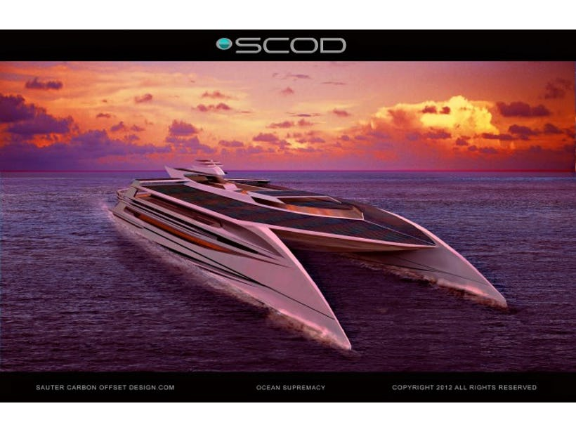 Solar hybrid propulsion system for advanced eco yacht