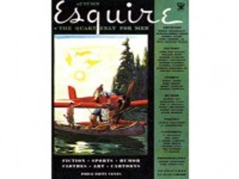 The 21st Century Begins Now - E-ink display on Esquire magazines