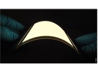 Flexible Organic lighting reaches high energy efficiency