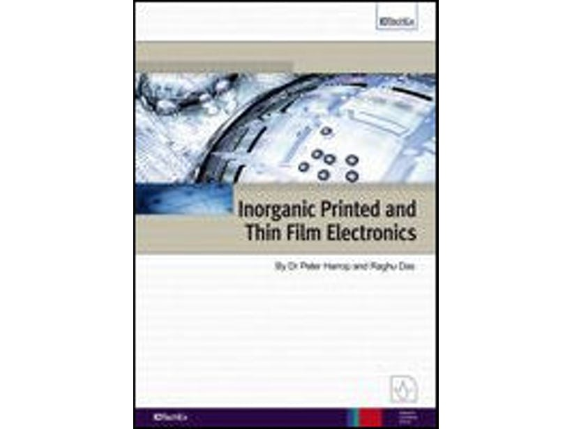 Inorganic Printed Electronics - The Great Opportunity