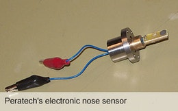Peratech creates fast-acting Electronic Nose using QTC technology