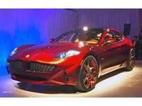 Fisker Automotive unveils the all-new Fisker Atlantic in New York