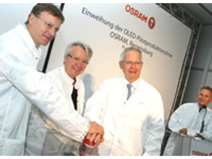 OSRAM celebrates milestone in manufacturing of OLED
