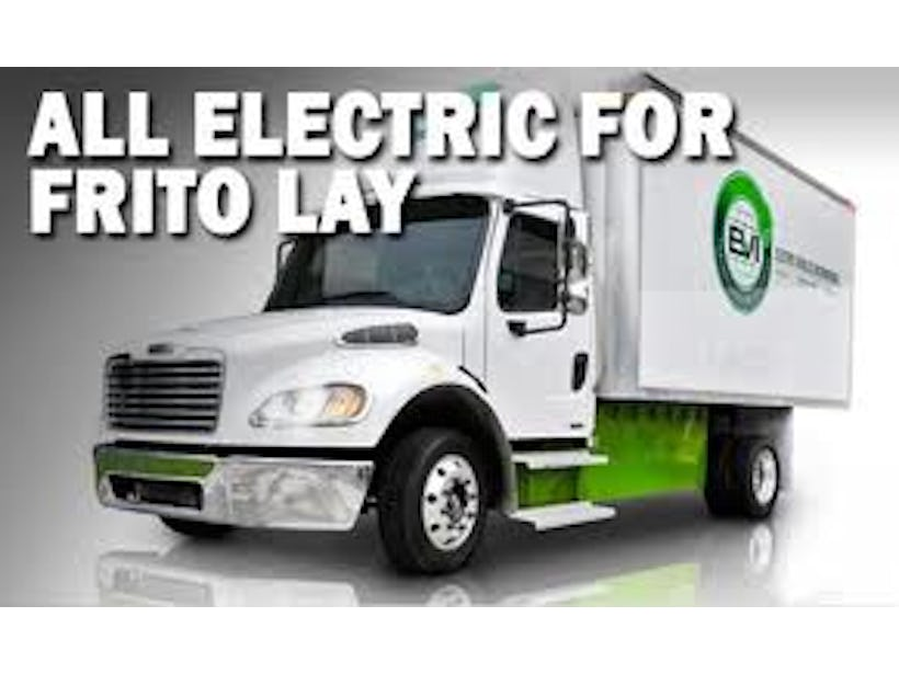 Frito-Lay & Electric Vehicles International Launch EV Pilot
