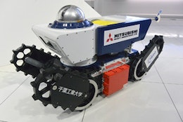 Anti-explosive remotely operated mobile robot