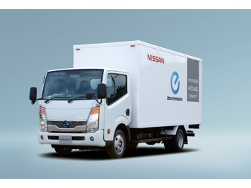 Industrial e-concept vehicles from Nissan