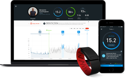 Performance optimisation wearable used by Olympic athletes in Rio