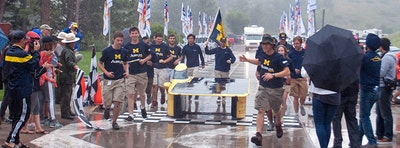 Solar car wins for the sixth time
