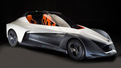 Prototype high-performance electric vehicle debuts in Rio de Janeiro