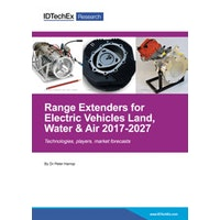 Range Extenders for Electric Vehicles Land, Water & Air 2017-2027 - Electronic (1-5 users)