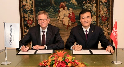 Joint development of electric vehicles in China
