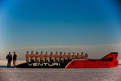 New world speed record for an electric vehicle