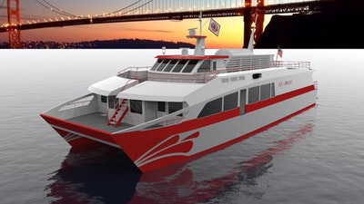 Hydrogen-powered passenger ferry in San Francisco Bay is possible