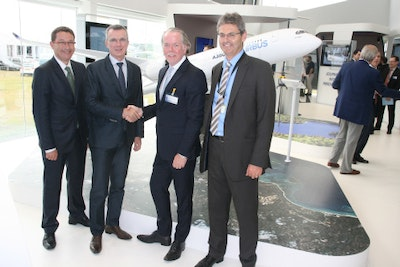 Airbus standardizes on Stratasys additive manufacturing solutions