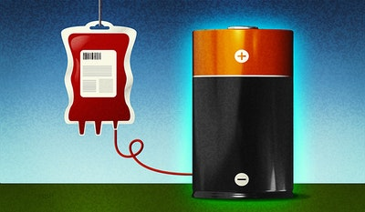 Blood molecule key to more efficient batteries