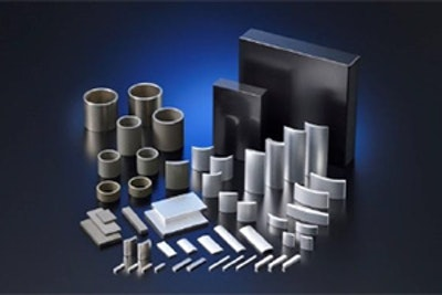 Production capacity for neodymium-iron-boron magnets, ferrite magnets