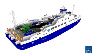 Hybrid ferries for the River Thames