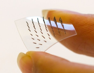 Skin patch with microneedles proves effective alternative to injection