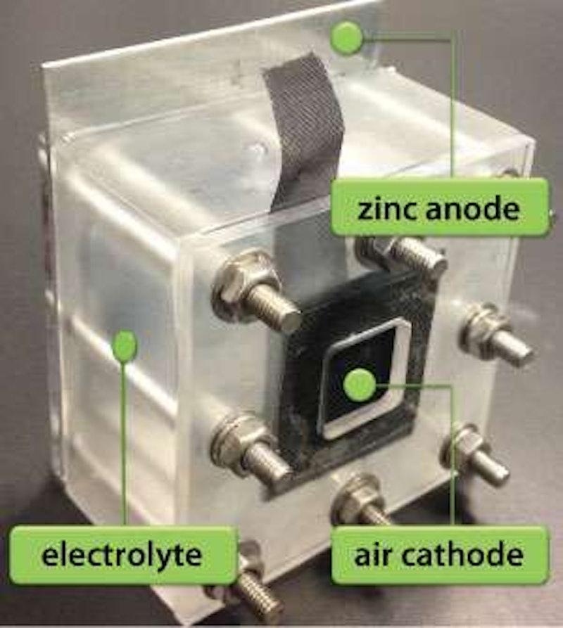 Zinc Air Battery : Three layer nanoparticle catalysts improve zinc air