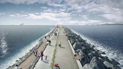 Tidal lagoon project makes the most of natural resources