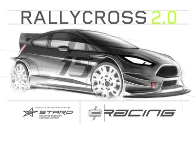 E/RACING electric powered rallycross series