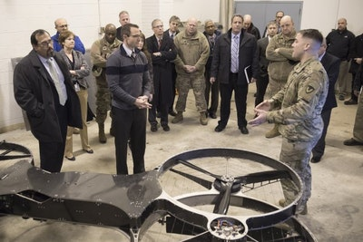 US Army flies hoverbike prototype