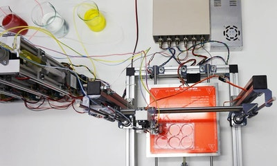 Scientists create a 3D bioprinter to print human skin