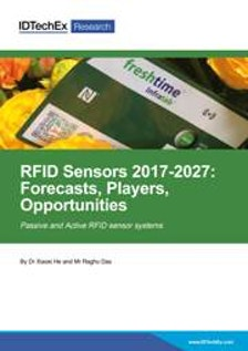 RFID Sensors 2017-2027: Forecasts, Players, Opportunities
