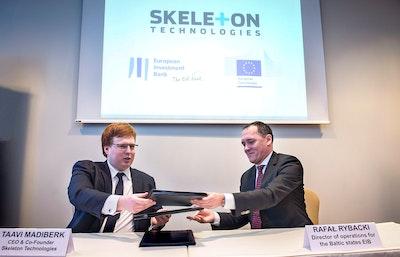 Skeleton Technologies investment loan agreement for 15 million Euros