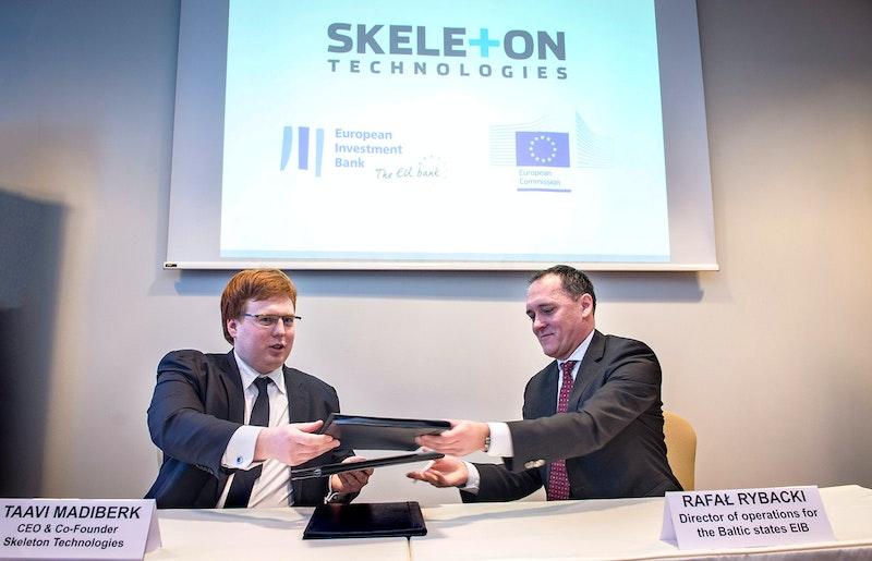 Skeleton Technologies investment loan agreement for 15 ...