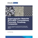 Supercapacitor Materials 2015-2025: Formulations, Forecasts, Roadmap, Companies