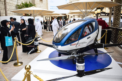 EHang partners with Dubai RTA to boost smart transport