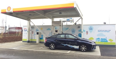 Shell launches its first hydroge refuelling station in the UK