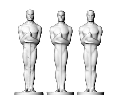 3D printed Oscars statuettes