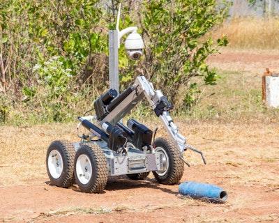 Low-cost EOD Robot
