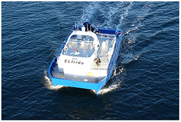 World's first electrically powered boat for fish farming
