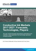 Conductive Ink Markets 2017-2027: Forecasts, Technologies, Players