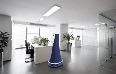 Indoor security robots